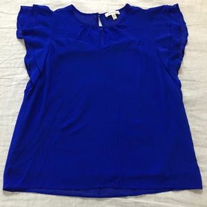 Monteau Blouse With Sweetheart Design